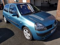 USED 2003 53 RENAULT CLIO 1.1 DYNAMIQUE BILLABONG 16V 3d 75 BHP