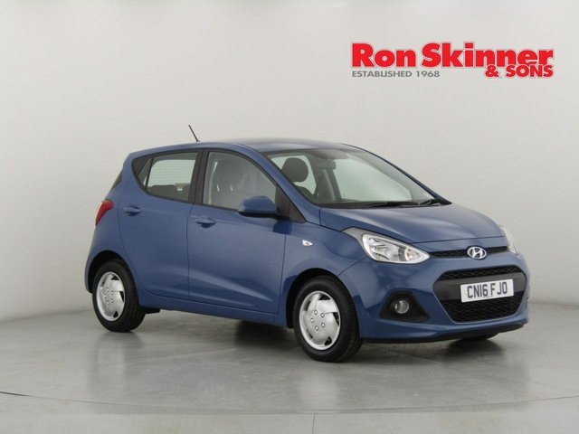 View our 2016 16 HYUNDAI I10 1.0 SE 5d 65 BHP