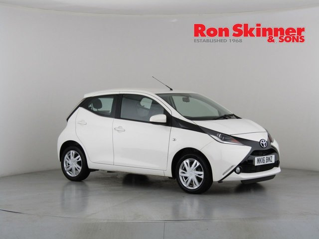 View our 2016 16 TOYOTA AYGO 1.0 VVT-I X-PRESSION 5d 69 BHP