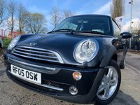 USED 2005 05 MINI HATCH COOPER 1.6 COOPER 3d 114BHP MOT MARCH 2020 +PAN GLASS ROOF