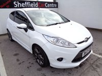 USED 2010 10 FORD FIESTA 1.6 ZETEC S 3d 118 BHP £107 A MONTH POPULAR HATCHBACK FULL SERVICE HISTORY ALLOYS SOUGHT AFTER  COLOUR SUPPLIED WITH SERVICE AND MOT SPORTY HATCHBACK