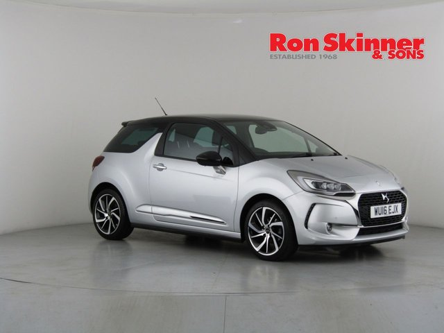 View our 2016 16 DS DS 3 1.6 BLUEHDI PRESTIGE S/S 3d 98 BHP