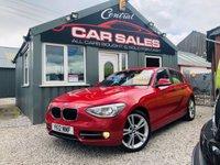 2012 BMW 1 SERIES 2.0 120D SPORT 5d 181 BHP £6295.00