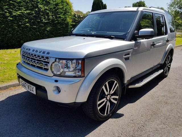 2012 62 LAND ROVER DISCOVERY 3.0 4 SDV6 HSE 5DR AUTOMATIC
