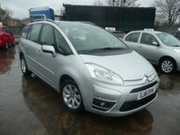 2011 CITROEN C4 GRAND PICASSO 1.6 VTR PLUS HDI 5d 110 BHP £SOLD