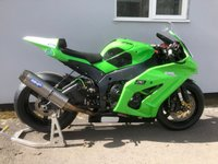 2014 KAWASAKI ZX  ZX 10 R  WITH V5    TRACK/ROAD £8995.00