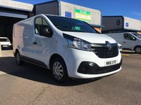 USED 2016 16 RENAULT TRAFIC 1.6 SL27 BUSINESS PLUS DCI L1 H1 115 BHP A/C, P/SENSORS, BLUETOOTH, E/W, 6 MONTHS WARRANTY & FINANCE ARRANGED. Remaining Renault warranty until 2020, 72,000 Miles, A/C, E/W, Bluetooth, media connectivity, DAB Radio, rear parking sensors, recent full service, Drivers airbag, Factory fitted bulk head, Side loading door, Very Good Condition, 1 Owner, remote Central Locking, Drivers Airbag, CD Player/FM Radio, Steering Column Radio Control, Side Loading Door, Barn Rear Doors, spare key & finance arranged on site