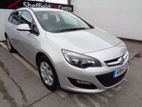 USED 2014 14 VAUXHALL ASTRA 1.6 DESIGN CDTI ECOFLEX S/S 5d 108 BHP £114 A MONTH ESTATE REAR SENSORS SUPPLIED WITH FULL MOT ALLOY WHEELS FULL MAIN DEALER SERVICE HISTORY