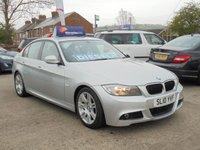 USED 2010 10 BMW 3 SERIES 2.0 318D M SPORT 4d 141 BHP * £30 TAX* PARKING AID* EXCELLENT VALUE*