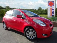 USED 2011 11 TOYOTA YARIS 1.33 VVT-i T Spirit Nav [6] FULL SERVICE & TOUCH SCREEN SAT NAV
