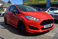 2014 FORD FIESTA 1.0 ZETEC S RED EDITION 3d 139 BHP £9299.00