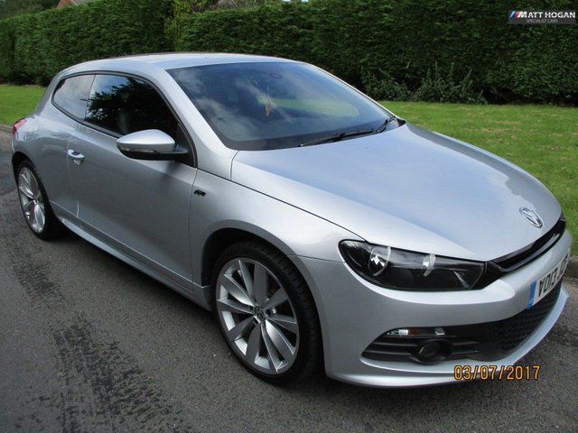 2013 13 VOLKSWAGEN SCIROCCO 2.0 R LINE TDI BLUEMOTION TECHNOLOGY 2DR MANUAL