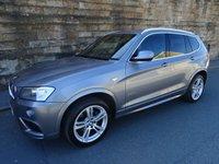 USED 2012 07 BMW X3 2.0 XDRIVE20D M SPORT 5d AUTO 181 BHP