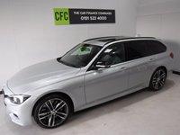 2017 BMW 3 SERIES 3.0 335D XDRIVE M SPORT SHADOW EDITION TOURING 5d AUTO 308 BHP £29990.00
