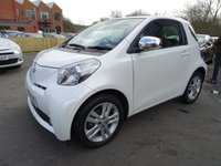 USED 2009 59 TOYOTA IQ 1.33 Dual VVT-i 3 1 OWNER & FULL SERVICE HISTORY-9 STAMPS
