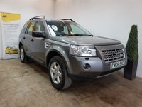 USED 2008 08 LAND ROVER FREELANDER 2.2 TD4 GS 5d AUTO 159 BHP SERVICE HISTORY 7 STAMPS
