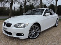 USED 2011 11 BMW 3 SERIES 3.0 325D M SPORT 2d AUTO 202 BHP/ SAT NAV/ HEATED SEATS STUNNING LOOKING BMW 325D M SPORT AUTOMATIC IN A WHITE COLOUR, COMES WITH MANY EXTRAS, SAT NAV/ HEATED SEATS/ PARKING SENSORS/ XENONS/ RED LEATHER SEATS/ With Service History, New Service, MOT 26/12/2019, 2 Keys, HPI, Warranty