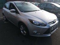 2013 FORD FOCUS 1.6 ZETEC 5d AUTO 124 BHP £7695.00
