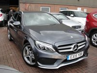 USED 2015 15 MERCEDES-BENZ C CLASS 2.0 C200 AMG LINE 5d AUTO 184 BHP ANY PART EXCHANGE WELCOME, COUNTRY WIDE DELIVERY ARRANGED, HUGE SPEC