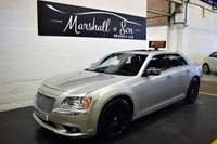 USED 2013 13 CHRYSLER 300C 3.0 CRD LIMITED 4d AUTO 236 BHP RARE LOW MILEAGE EXAMPLE - TOP SPEC - S/H TO 59K - NAV - LEATHER - ALPINE SPEAKERS - DOUBLE ELECTRIC SUNROOF