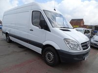 2009 MERCEDES-BENZ SPRINTER 2.1 311 CDI LWB PANEL VAN DRIVES A1 £3495.00