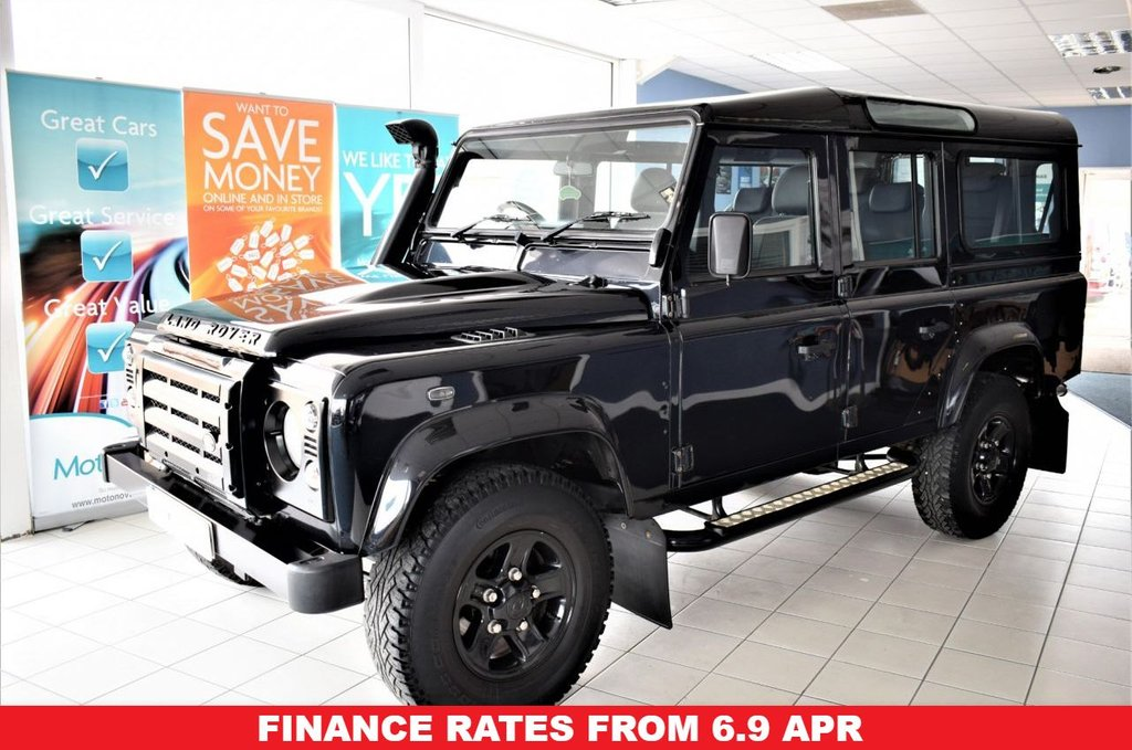 USED 2011 61 LAND ROVER DEFENDER 110 2.4 110 TD XS STATION WAGON 5d 121 BHP NO VAT LOW-MILES