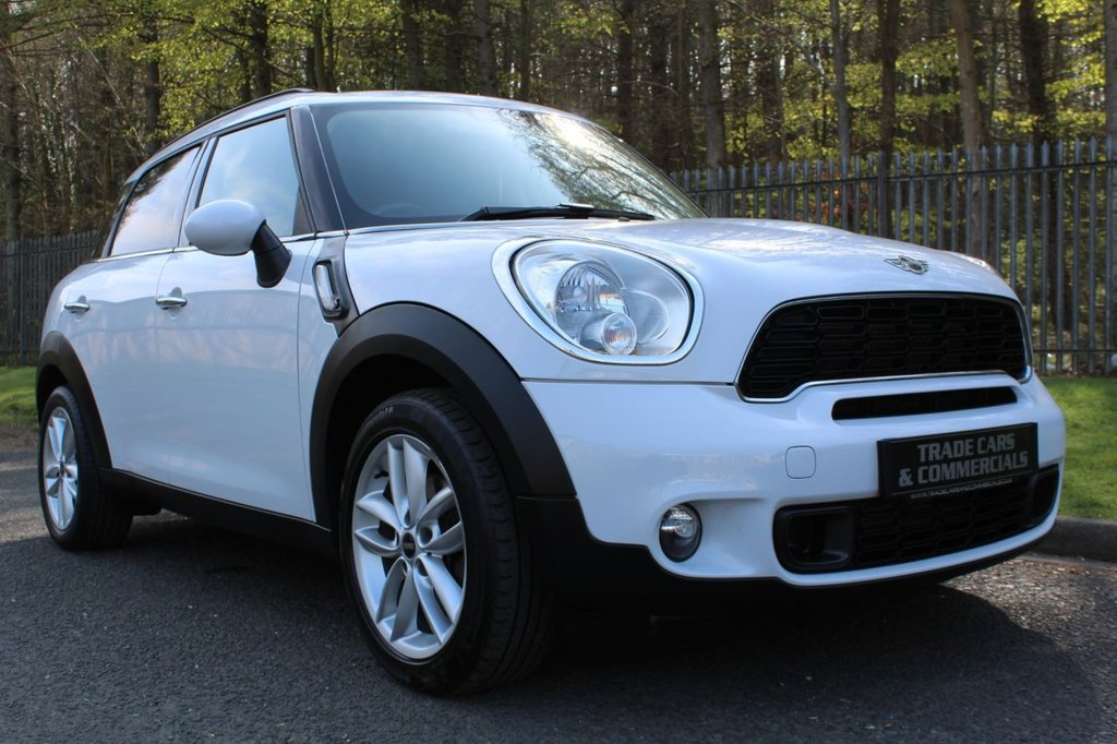USED 2012 62 MINI COUNTRYMAN 2.0 COOPER SD 5d 141 BHP A CLEAN EXAMPLE WITH A FULL DEALER SERVICE HISTORY!!!