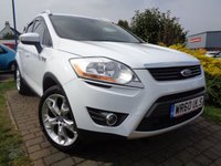 USED 2010 60 FORD KUGA 2.0 TITANIUM TDCI AWD 5d 163 BHP **Ideal Family 4x4 Crossover Full Service History 6 Services 12 Months Mot**