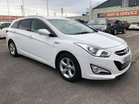 USED 2013 13 HYUNDAI I40 1.7 CRDI STYLE BLUE DRIVE 5d 134 BHP GOT A POOR CREDIT HISTORY * DON'T WORRY * WE CAN HELP * APPLY NOW *