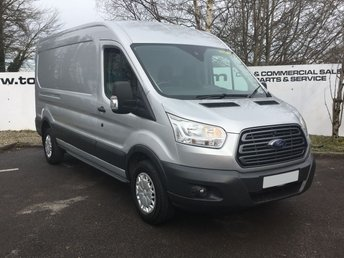 2015 FORD TRANSIT 350 FWD 2.2 125 BHP TREND L3 H2**OVER 85 VANS IN STOCK** £9750.00