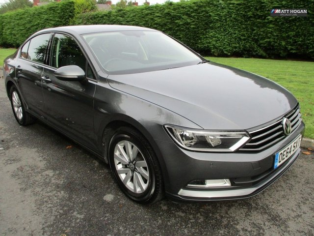 2015 64 VOLKSWAGEN PASSAT 1.6 S TDI BLUEMOTION TECHNOLOGY 4DR