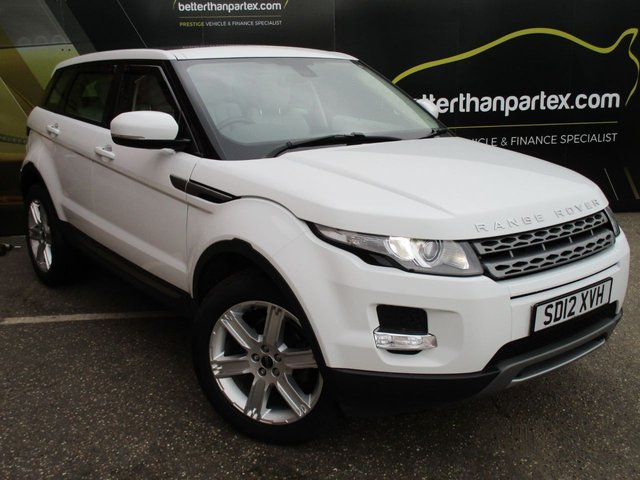 2012 12 LAND ROVER RANGE ROVER EVOQUE 2.2 SD4 PURE 5d AUTO 190 BHP PAN ROOF MERIDIAN SOUND SYSTEM