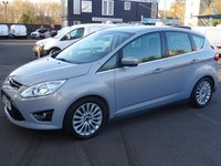 USED 2012 12 FORD C-MAX 2.0 TDCi Titanium Powershift Auto Low Mileage with FSH