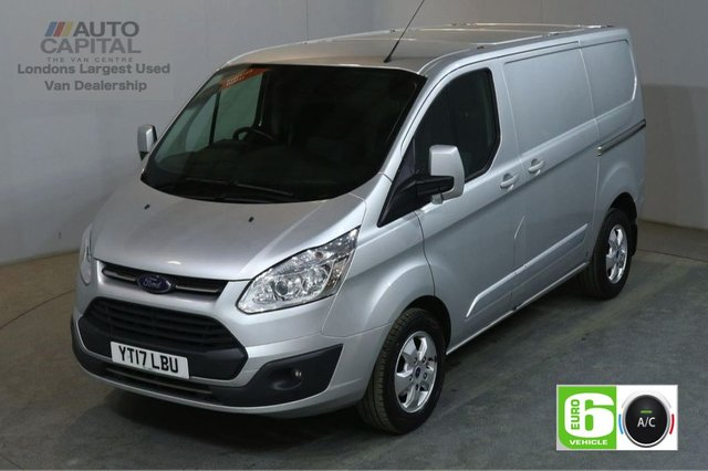 2017 17 FORD TRANSIT CUSTOM 2.0 270 LIMITED 130 BHP SWB L1 H1 SAT NAV AIR CON EURO 6 VAN AIR CONDITIONING EURO 6 LTD