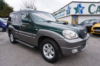 2007 HYUNDAI TERRACAN 2.9 CRTD STANDARD LIMITED EDITION ( 10 X SERVICE STAMPS ! ) £4989.00