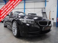 "USED 2010 10 BMW Z4 2.5 Z4 SDRIVE23I ROADSTER 2d AUTO 201 BHP Comprehensive BMW Service History, Heated Leather Seats with Power Adjustment and Memory, Front and Rear Parking Sensors, Bluetooth Hands Free, Auto Lights and Wipers, Power Folding Mirrors, Tyre Pressure Sensors, 18"" Alloys"