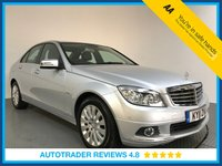 USED 2011 11 MERCEDES-BENZ C-CLASS 1.8 C180 CGI BLUEEFFICIENCY ELEGANCE 4d 156 BHP FULL HISTORY - LOW MILES - LEATHER - PARKING SENSORS - AIR CON - BLUETOOTH - CRUISE
