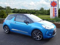 USED 2015 65 DS DS 3 1.6 BlueHDi DStyle Nav Low Mileage * DAB * FSH * Bluetooth * Zero rd Tax