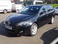 USED 2013 13 VOLKSWAGEN GOLF 1.6 TDI 105 BlueMotion Tech Sportline 5dr £20 road tax*FSH*AUX*High Spec*