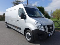 USED 2016 16 NISSAN NV400 SE L3 H2 LWB HIGHTOP 2.3 DCI 125 BHP Direct From Leasing Company With Full Service History! Popular SE Model With Air Con, Electric Windows & Parking Sensors