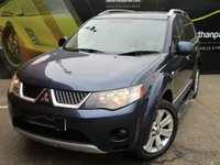 USED 2009 59 MITSUBISHI OUTLANDER 2.4 ELEGANCE 5d AUTOMATIC 168 BHP SAT NAV 7 SEATER PART EXCHANGE AVAILABLE / ALL CARDS / FINANCE AVAILABLE