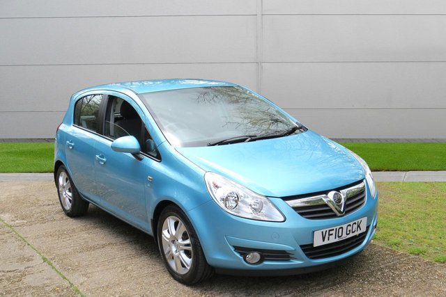 USED 2010 10 VAUXHALL CORSA 1.4 SE 5d 98 BHP VERY LOW MILEAGE, AIR CON, FINANCE ME TODAY-UK DELIVERY POSSIBLE