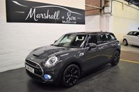 USED 2016 16 MINI CLUBMAN 2.0 COOPER S 5d 189 BHP RARE THUNDER GREY - OVER £8K FACTORY OPTIONS - SAT NAV - HALF LEATHER - HEATED SEATS - DRIVING PACK - STORAGE PACK - LED LIGHTS