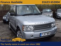 USED 2007 LAND ROVER RANGE ROVER 3.6 TDV8 VOGUE SE 5d AUTO 272 BHP