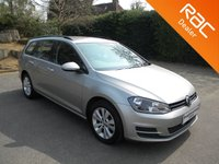USED 2013 63 VOLKSWAGEN GOLF 1.6 SE TDI BLUEMOTION TECHNOLOGY 5d 103 BHP Great Family Estate Car! Bluetooth, Cruise Control, Rear Parking Sensors, Alloy Wheels