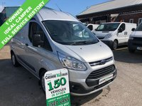 USED 2015 15 FORD TRANSIT CUSTOM 2.2 310 TREND LR 125 BHP 1 OWNER FROM NEW AIR CON & CRUISE CONTROL FSH 1 OWNER FROM NEW AIR CON & CRUISE CONTROL