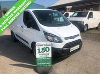 USED 2014 14 FORD TRANSIT CUSTOM 2.2 270 100BHP 1 OWNER FORM NEW FULL SERVICE HISTORY 1 OWNER, FULL SERVICE HISTORY, 6 MONTHS RAC WARRANTY