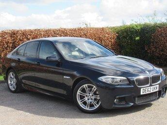 2012 BMW 5 SERIES 2.0 520D M SPORT 4d 181 BHP £8995.00