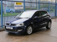 USED 2012 12 VOLKSWAGEN POLO 1.6 SEL TDI 5d 89 BHP