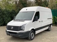 USED 2016 16 VOLKSWAGEN CRAFTER 2.0 CR35 TDI H/R P/V 1d 135 BHP AIR CONDITIONING